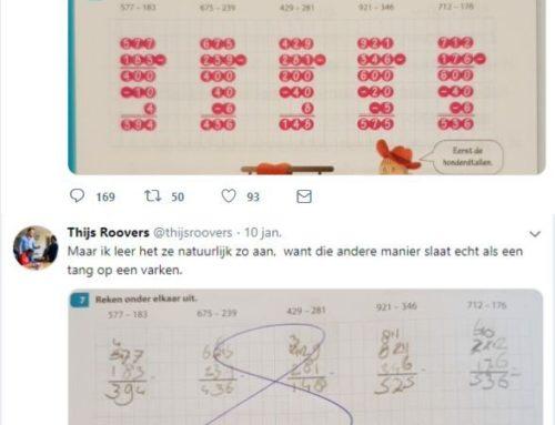 Rekenmethoden, een voorbeeld